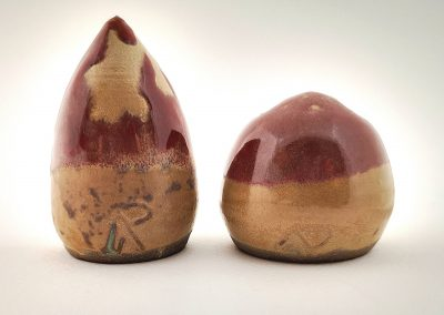 Ceramic miniature two friends AAP72